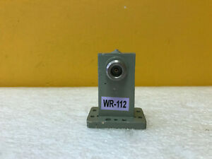 Arra Wg136p6j1 Wr112 7 05 To 10 Ghz N f Waveguide To Coax Adapter Tested