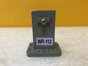 Arra Wg136p3j1 Wr112 7 05 To 10 Ghz Sma f Waveguide To Coax Adapter Tested