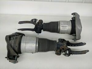 2003 2006 Porsche Cayenne S Turbo Front Air Suspension Shock Strut Set 955 Oem