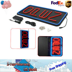 30w Led Light Window Game Business Bright 23 6 x11 8 Vertical Neon Open Sign