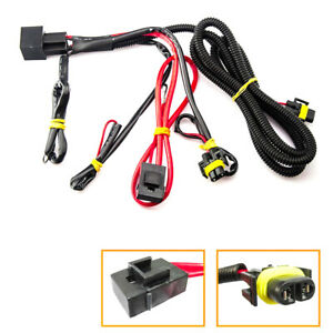 H8 H11 Fog Wiring Harness With Relay Switch Connectors Fog Lights Bulb For Buick