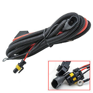 9005 9006 Relay Wiring Harness For Xenon Headlamp Kit Add On Fog Light Led Drl