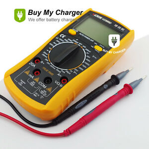 Vc890d Handhold Electrical Digital Multimeter With Test Lead data Hold Function
