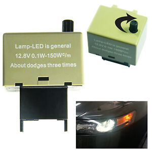 Speed Adjustable 8 Pin Led Flasher Assy Relay Fix Turn Signal For Toyota Lexus
