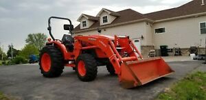 2014 Kubota Tractor Mx5200 Hst Low Hrs 497 Well Maintained Great Condition