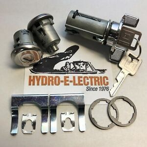 New 1969 1973 Pontiac Firebird Ignition Door Lock Set With Gm Keys