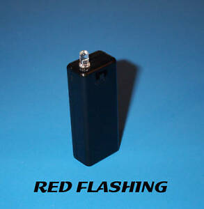 Fake Car Alarm Led Light Red Blinking Aaa Battery Diy