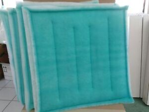 20 X 20 Tacky Filter Count 20 Series 55 Intake Spray Paint Booth Dust Collect