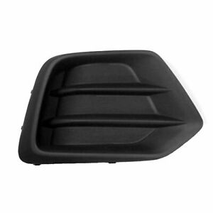 Dat Auto Parts Fits Front Right Passenger Side Fog Light Cover Textured Black