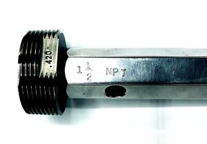 Thread Plug Gage 1 1 2 Npt 420 Inspection Tool