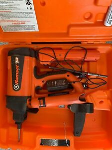 Ramset T3 Powder Actuated Tool Gas Framing Nailer Nail Gun Fastener With Case