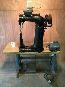 Puritan Industrial Commercial Leather Sewing Machine Saddlery High Post Tack 220