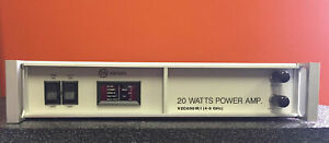 Varian Vzc6961k1 4 To 8 Ghz 20 W 35 Db Type N f Twt Amplifier Tested