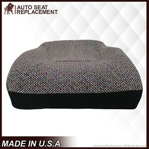 1998 1999 2000 001 02 Dodge Ram 1500 2500 3500 Bottom Cloth Seat Cover Dark Gray