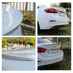 Fits 2016 2019 Chevrolet Cruze Sedan Rear Trunk Lip Spoiler Painted 4color