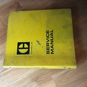 Caterpillar Cat 3208 Diesel Marine Industrial Engine Service Manual S n 75v 90n