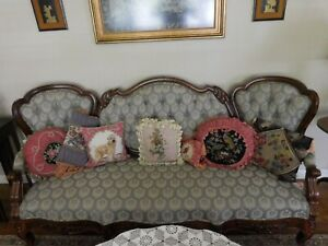 Rosewood Victorian Sofa Total Restoration By Pro
