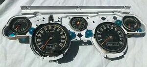 1967 Or 1968 Mustang Shelby 6k Tach Instrument Cluster Trip Odometer Clock All