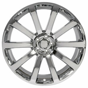 20 Rim Fits 2005 2018 Chrysler 300 Chrome 10 Spokes 20x9 Aluminum Wheel