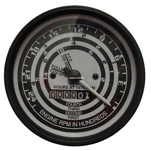 Ford Naa 600 800 2000 4000 Tractor Select o speed Tach Tachometer C3nn17360j
