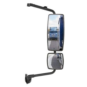 Door Mirror With Arm Passenger Side Rh For International Truck 4300 Durastar