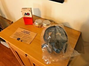 New Dual Filter Cartridge Full Face Respirator 4 Ao Safety R53he Filters