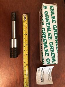 Greenlee Slug Splitter Draw Stud For Knock Out Punch Stainless Cat 5029451