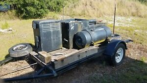 15000 Watt Generator Has A 4cyl 80 Hp diesel On Trailer Runs Great 1 500