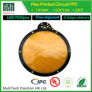 1l Fpc Rigid flex Pcb Assembly Manufacturer High Quality Fast Delivery Low Price