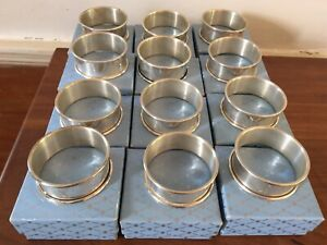 Web Sterling Silver Napkin Ring In Original 561 Box Engraved N 11 Available