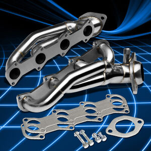 Stainless Steel Shorty Header Exhaust Manifold For 1996 2004 Ford Mustang Gt 4 6