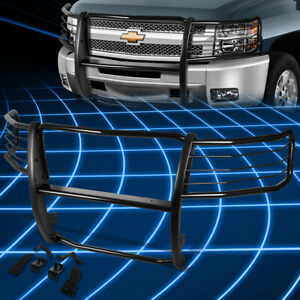For 07 13 Chevy Silverado Mild Steel Front Bumper Grille Brush Guard Replacement