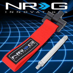 Nrg Tow 125rd For 07 15 Lexus Is250 Gs430 Front Rear Tow Hook Towing Strap Belt