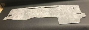 2016 2017 2018 2019 2020 Toyota Tacoma Dash Cover Charcoal Grey Suede