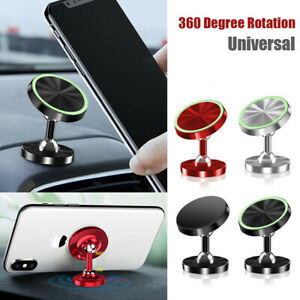 360 Magnetic Car Dashboard Phone Holder Mount Stand For Cellphone Gps Universal