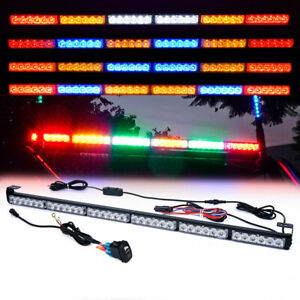 36 Offroad Rear Chase Led Strobe Light Bar With Brake Reverse For Utv Atv Truck