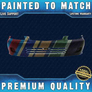 New Painted To Match Front Bumper Cover Fascia For 1999 2000 Honda Civic 99 00