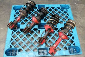 Jdm 02 07 Subaru Impreza Wrx Sti Version 7 Oem Shock 5x100struts Suspension