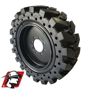 12x16 5 Maximizer Gt Tire Skid Steer Solid Tires For Cat 4 Tires wheels 33x12 20