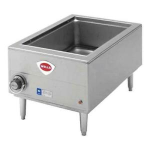 Wells Hwsmp Full Size Cook N Hold Countertop Food Warmer