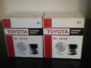 Lot Of 2 Toyota Genuine Oil Filter 90080 91058 New Sealed