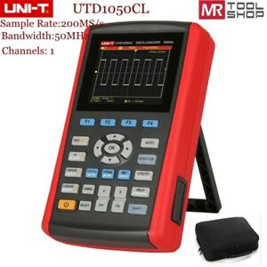 Uni t Utd1050cl Color Handheld Storage Oscilloscope 1ch 50mhz Multimeter Usb Int