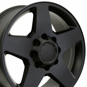 Wheel For 2002 2006 Chevy Silverado 1500 Aluminum Rim 20 8 Lug 165 1mm 20x8 5