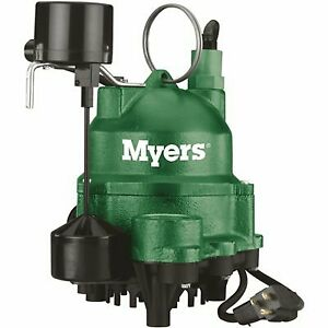 Myers 1 3 Hp Residential Sump Pump