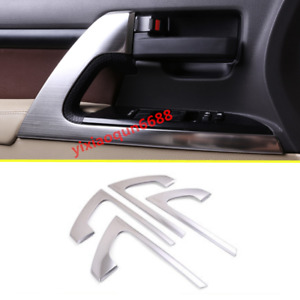 For Toyota Land Cruiser Lc200 2016 2019 Stainless Door Handle Decoration Trim