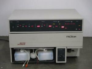Becton Dickinson Facscan Automated Flow Cytometer Fluorescent Cell Analyzer