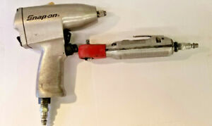 Snap on Air Tools Far25a 1 4 Drive Air Ratchet And Im31 3 8 Drive Impact Wre