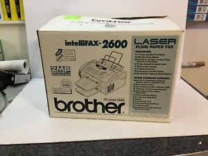 Brother Intellifax 2600 Laser Plain Paper Fax