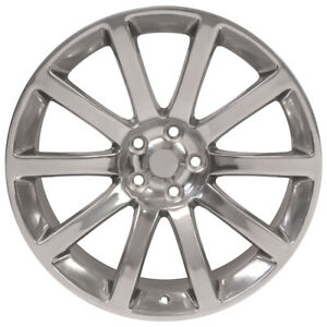 20 Rim Fits 2005 2018 Chrysler 300 Polished 20x9 Aluminum Wheel