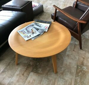 Authentic Herman Miller Eames Molded Plywood Coffee Table